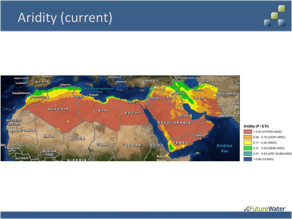 Aridity (current)