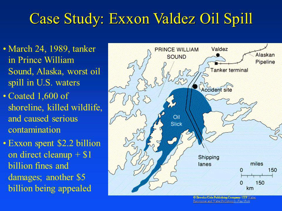 Case Study: Exxon Valdez Oil Spill