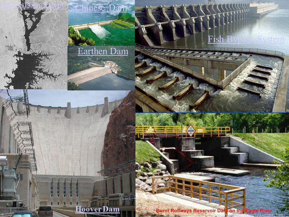 Chinese Dam Fish Bypass System Earthen Dam Aswan Dam, Egypt Hoover Dam