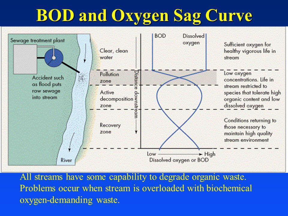 BOD and Oxygen Sag Curve