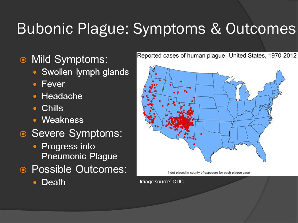 Bubonic Plague: Symptoms & Outcomes