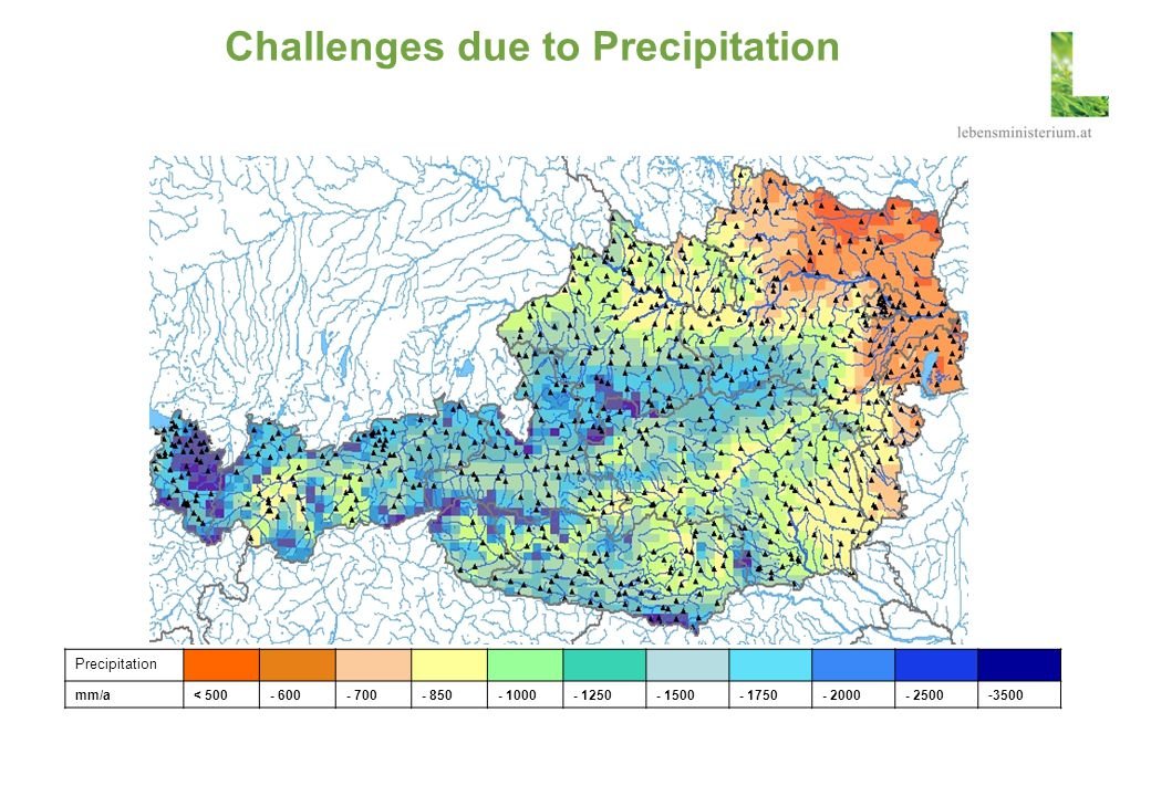 Challenges due to Precipitation