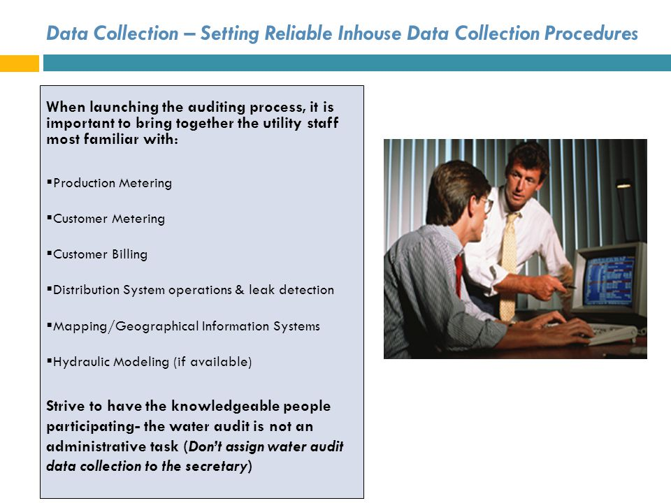 Data Collection – Setting Reliable Inhouse Data Collection Procedures