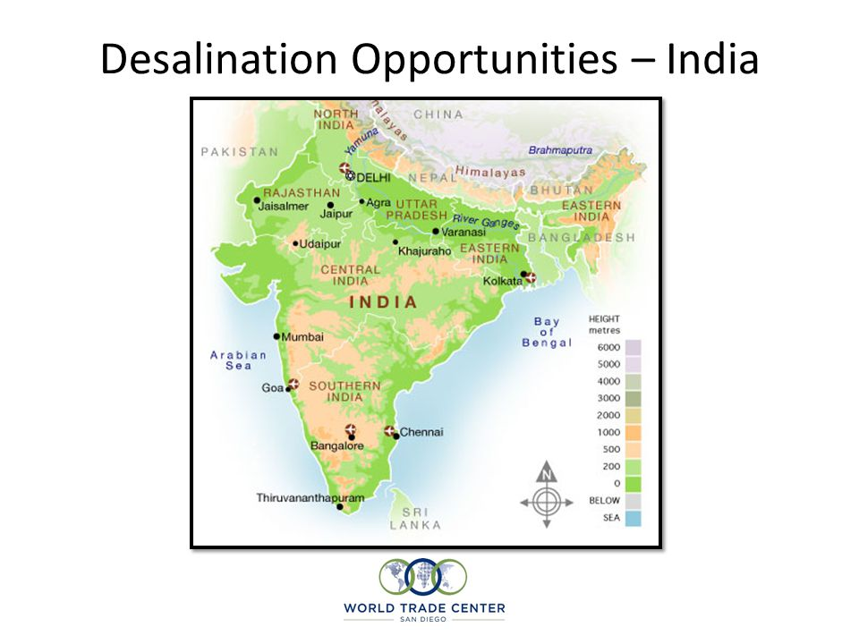 Desalination Opportunities – India