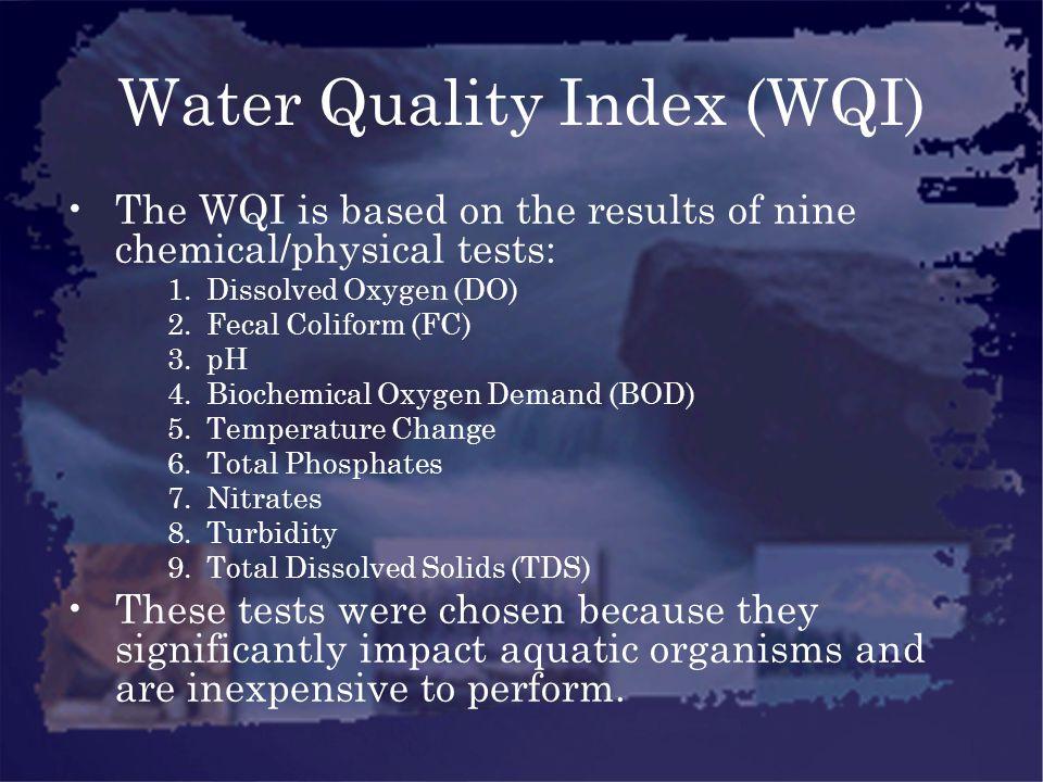 Water Quality Index (WQI)