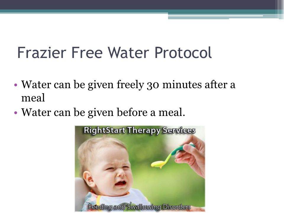 Frazier Free Water Protocol