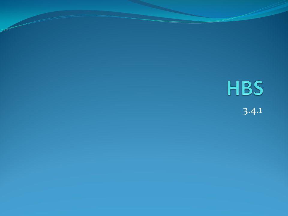 HBS 3.4.1