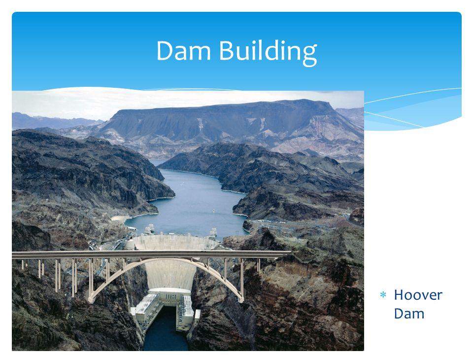 Dam Building Hoover Dam