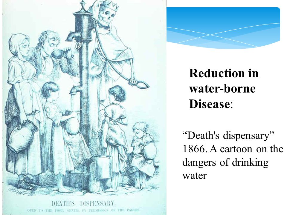 Reduction in water-borne Disease: