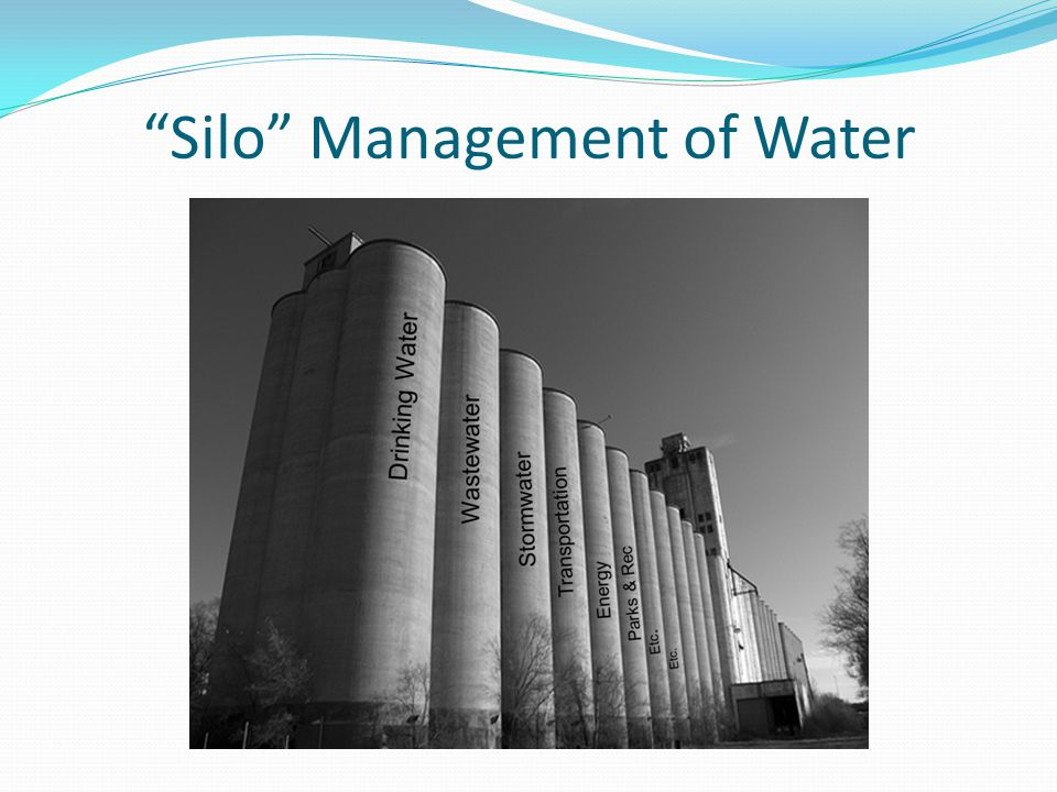 Silo Management of Water