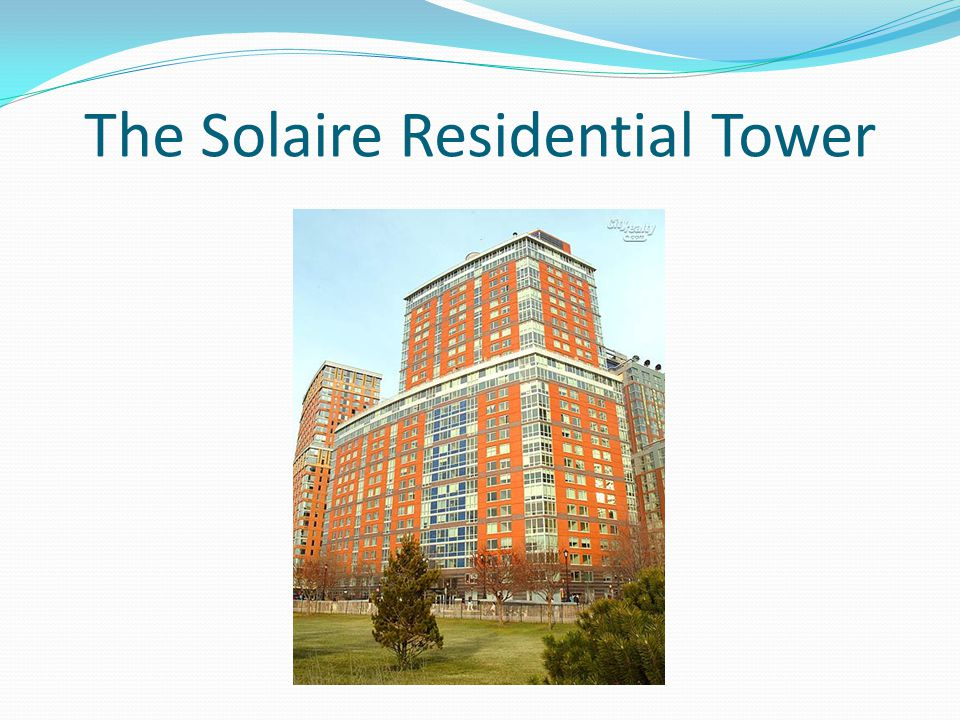 The Solaire Residential Tower