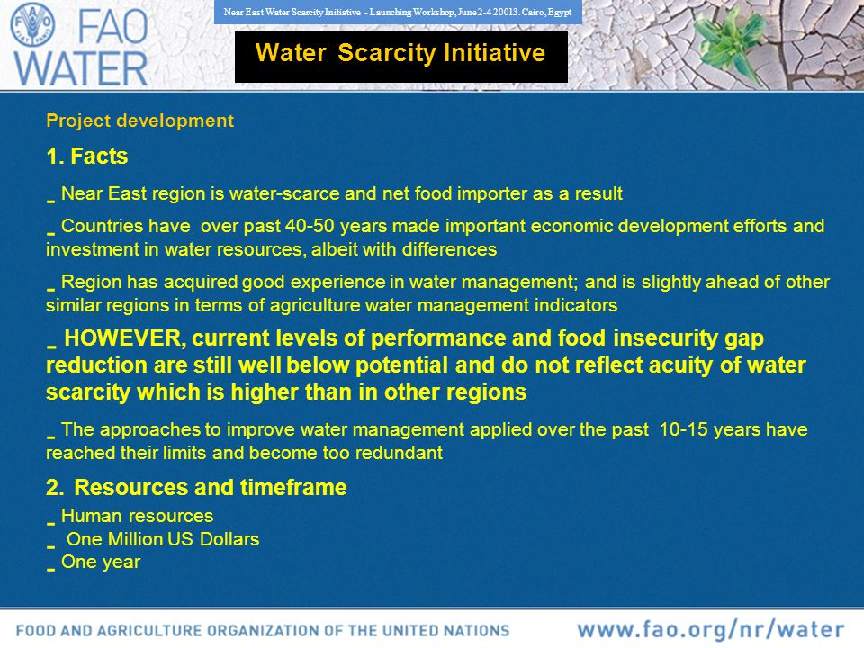 Water Scarcity Initiative