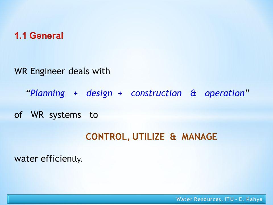 CONTROL, UTILIZE & MANAGE
