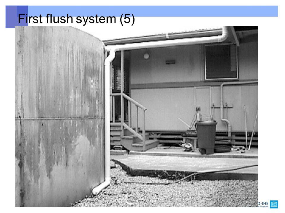 First flush system (5)