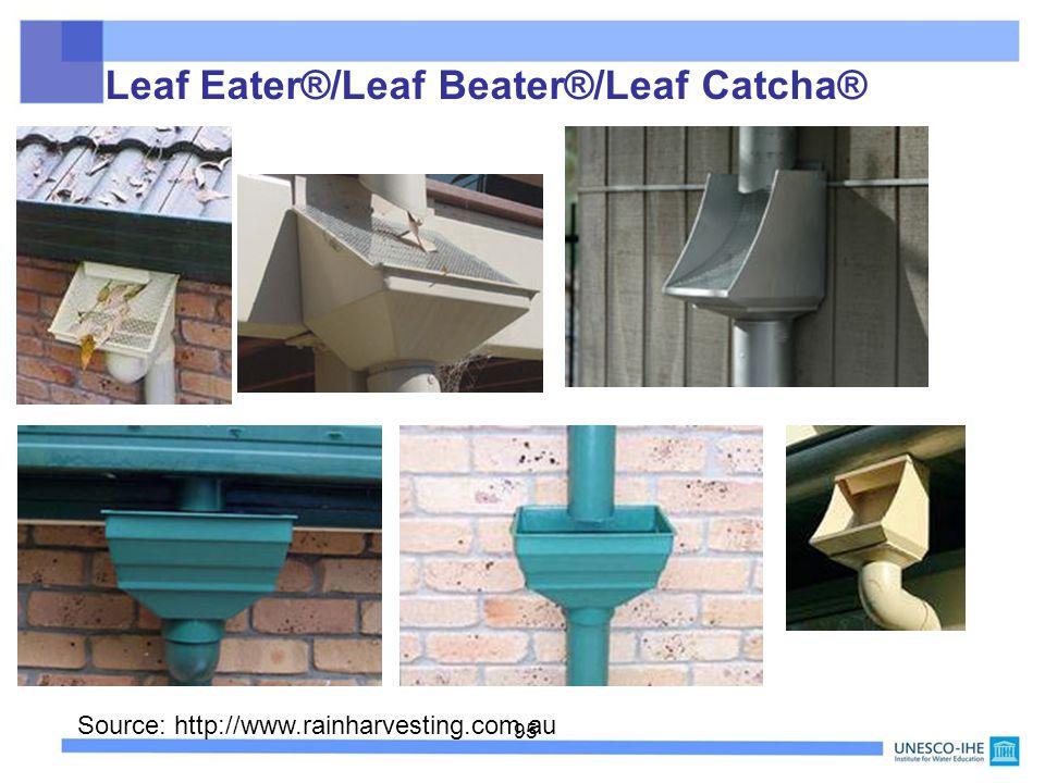Leaf Eater®/Leaf Beater®/Leaf Catcha®