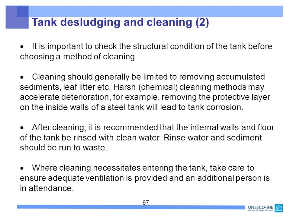 Tank desludging and cleaning (2)