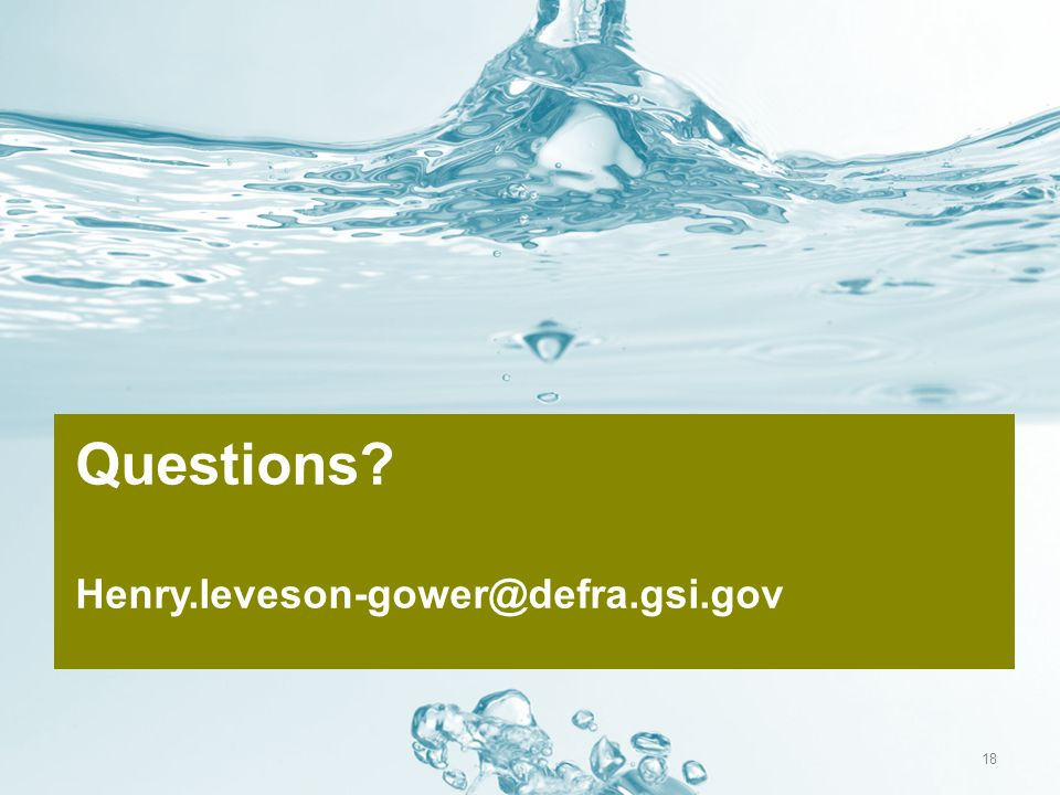 Questions Henry.leveson-gower@defra.gsi.gov