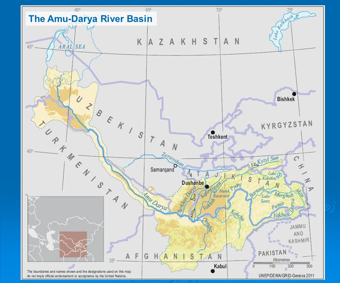 The Amu-Darya River Basin