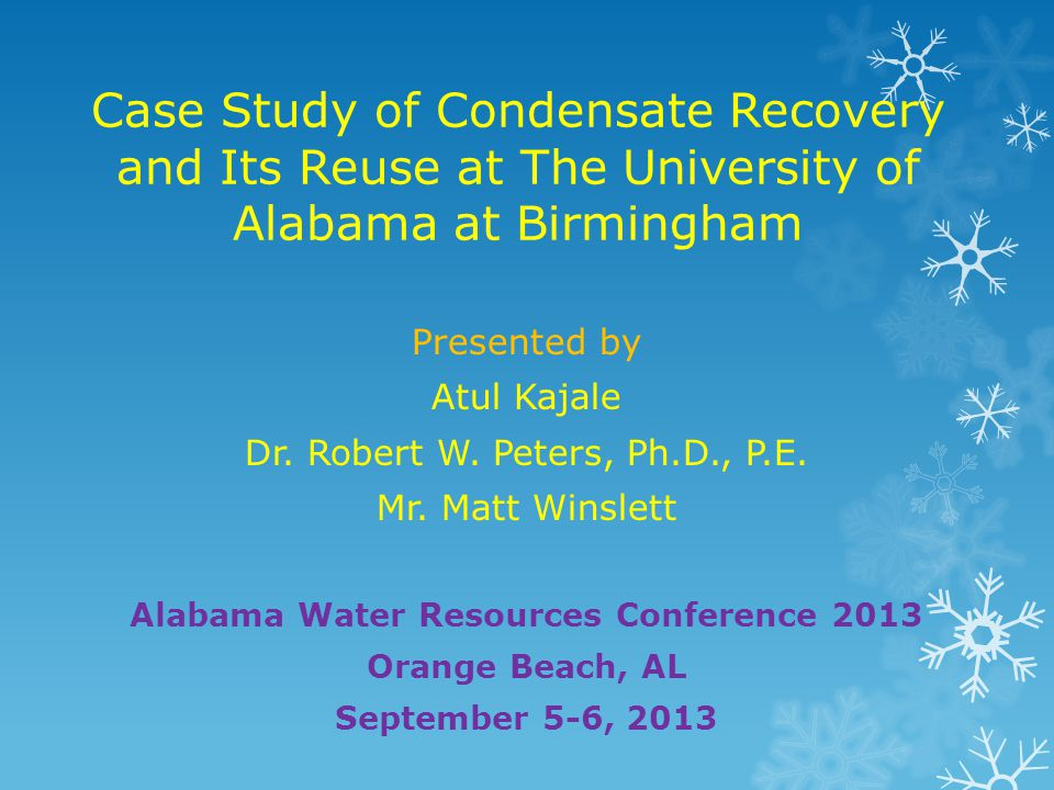 Alabama Water Resources Conference 2013
