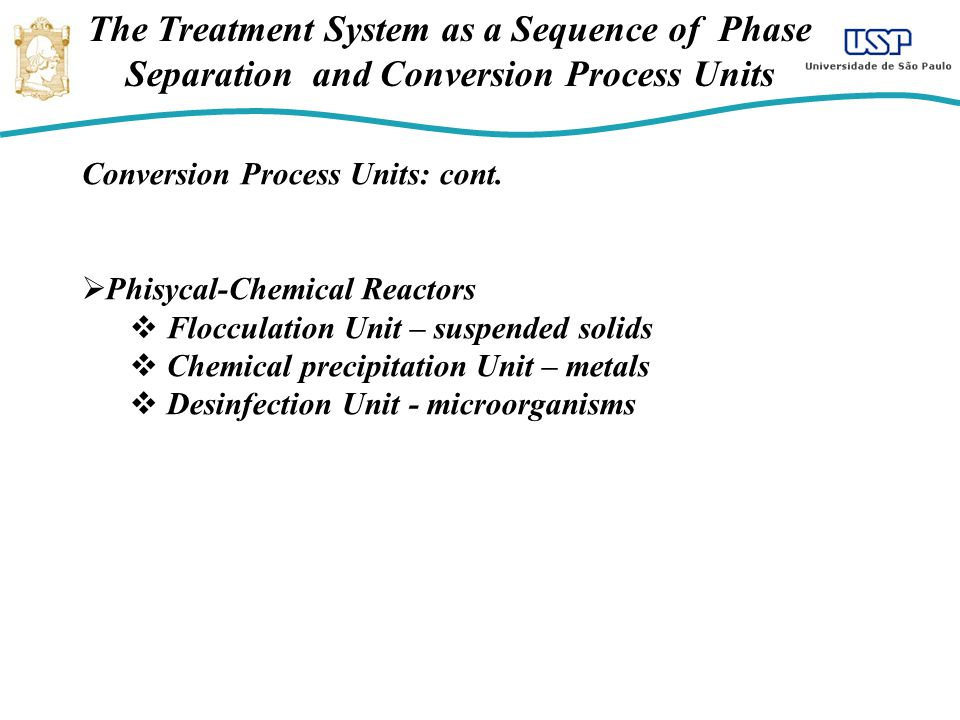 The Treatment System as a Sequence of Phase