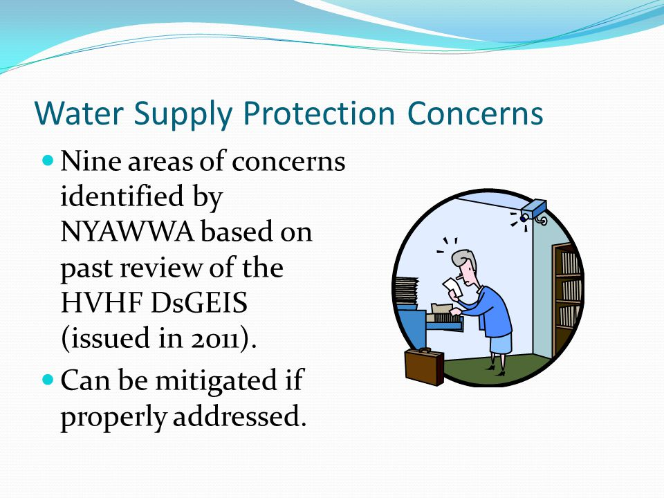 Water Supply Protection Concerns