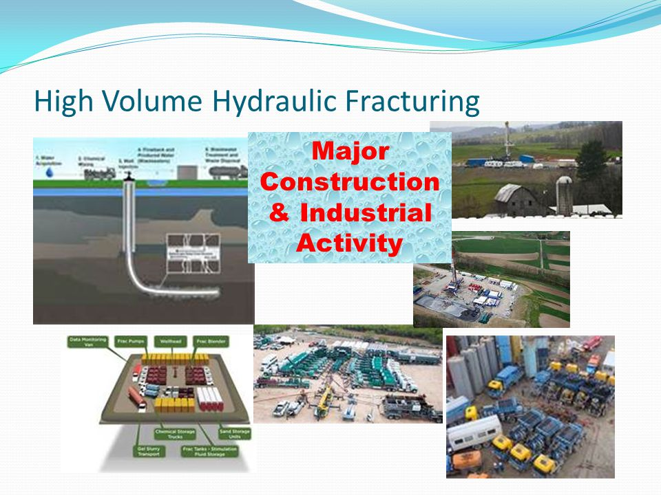 High Volume Hydraulic Fracturing