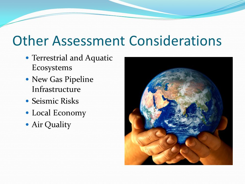 Other Assessment Considerations