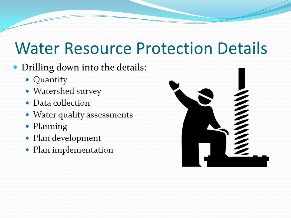 Water Resource Protection Details