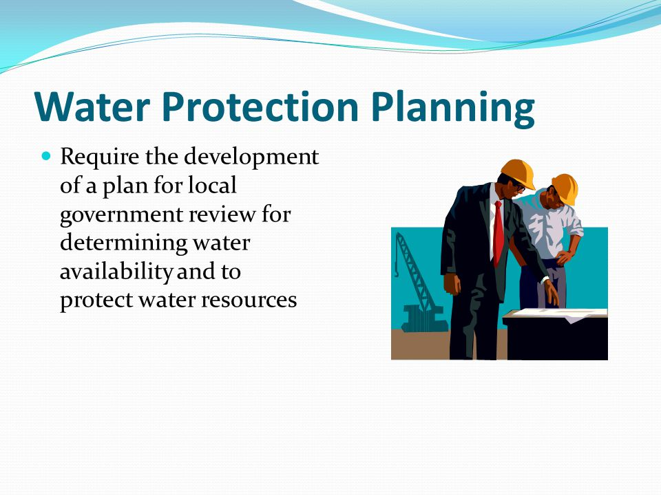 Water Protection Planning