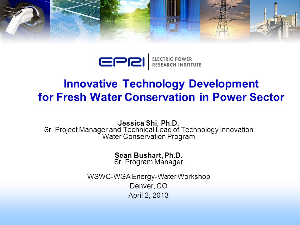 Innovative Technology Development for Fresh Water Conservation in Power Sector