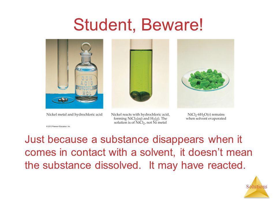 Student, Beware!