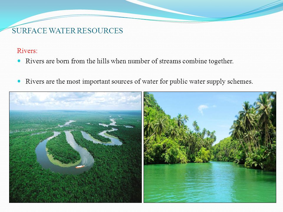 SURFACE WATER RESOURCES