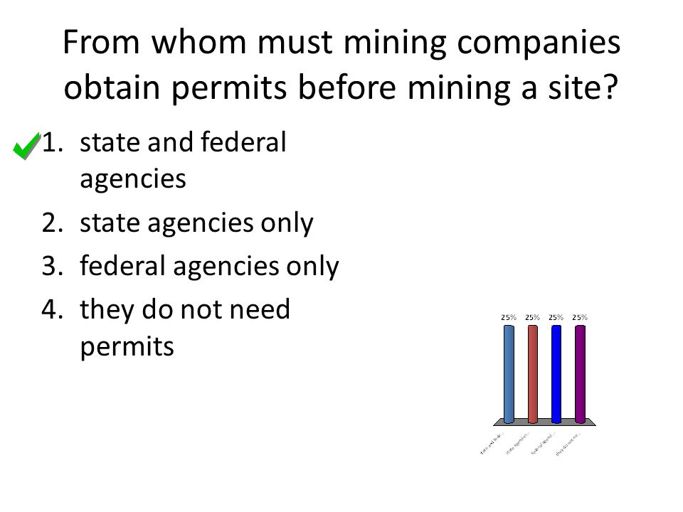 From whom must mining companies obtain permits before mining a site