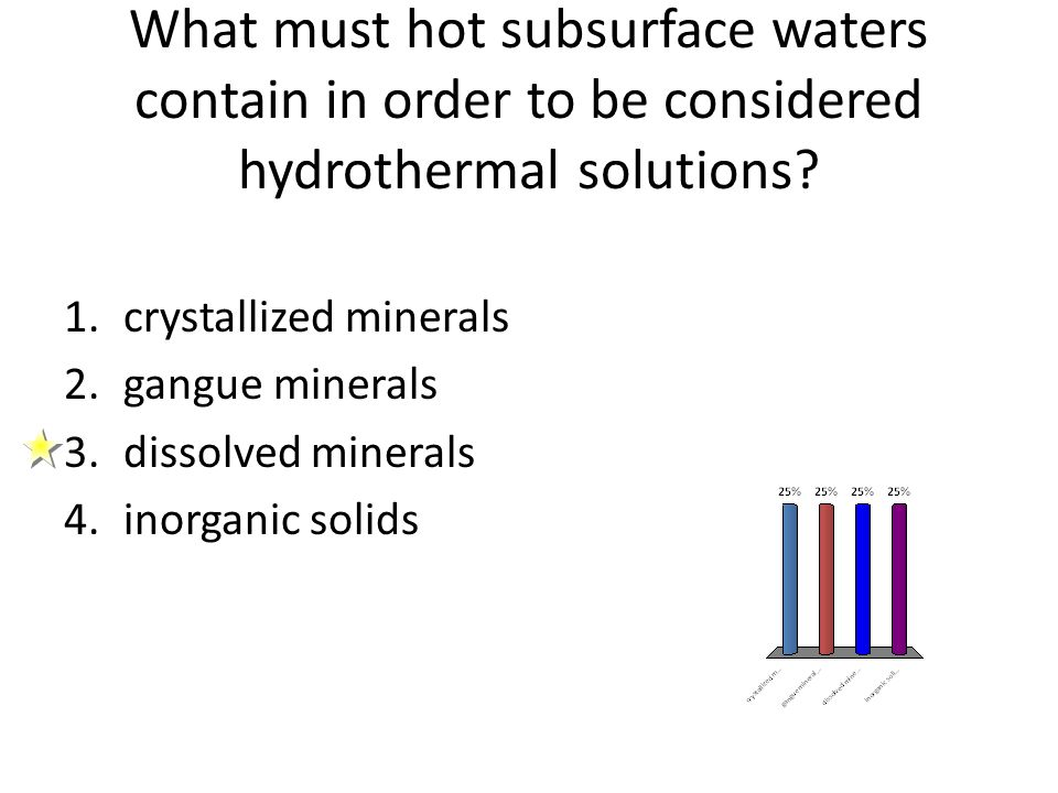 What must hot subsurface waters contain in order to be considered hydrothermal solutions