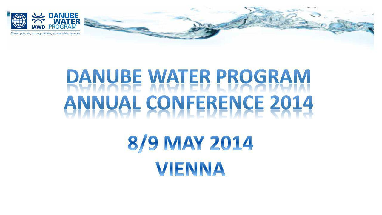 Danube water program Annual Conference 2014 8/9 MAY 2014 VIENNA