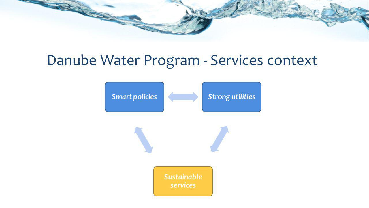 Danube Water Program - Services context