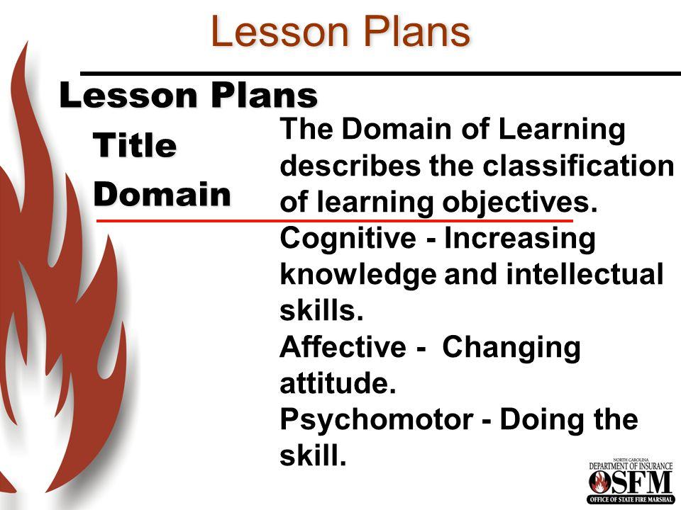 Lesson Plans Lesson Plans Title Domain