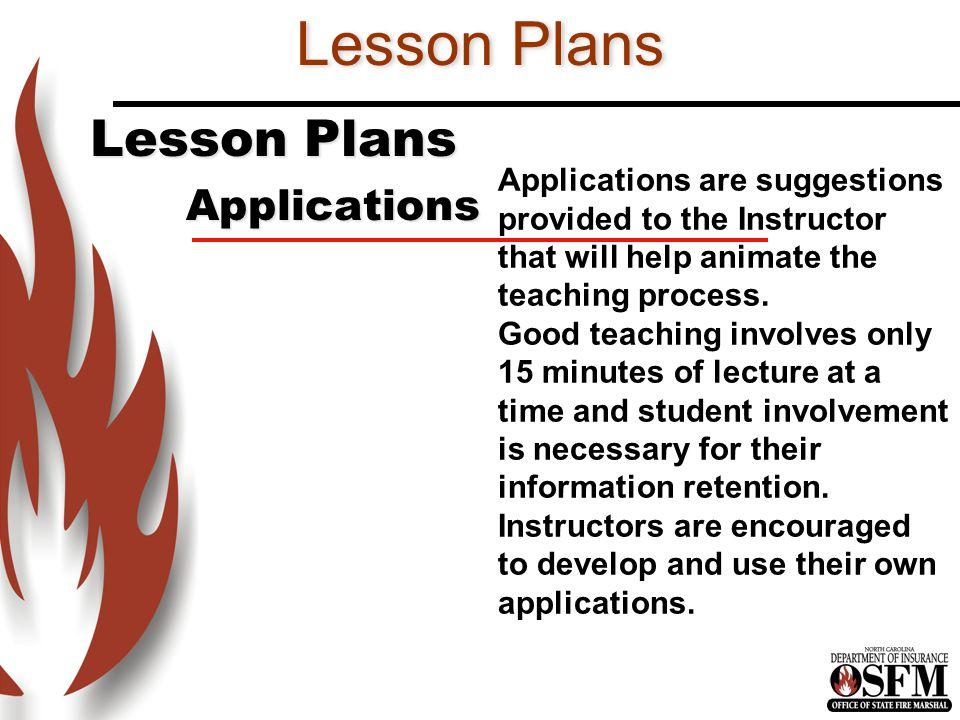 Lesson Plans Lesson Plans Applications