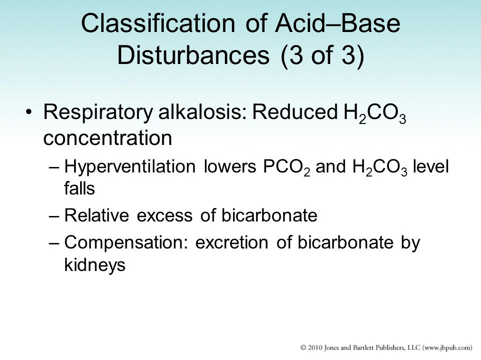 Classification of Acid–Base Disturbances (3 of 3)