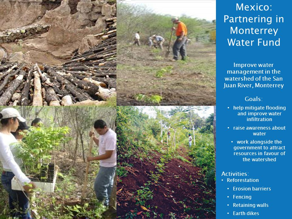Mexico: Partnering in Monterrey Water Fund