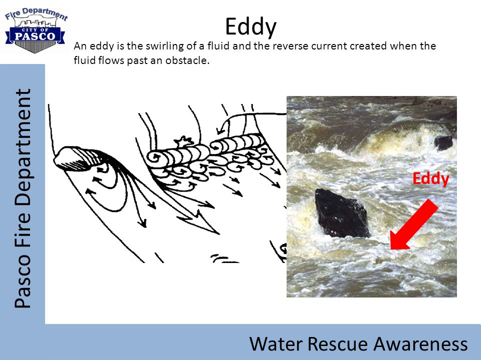 Eddy Pasco Fire Department Water Rescue Awareness Eddy
