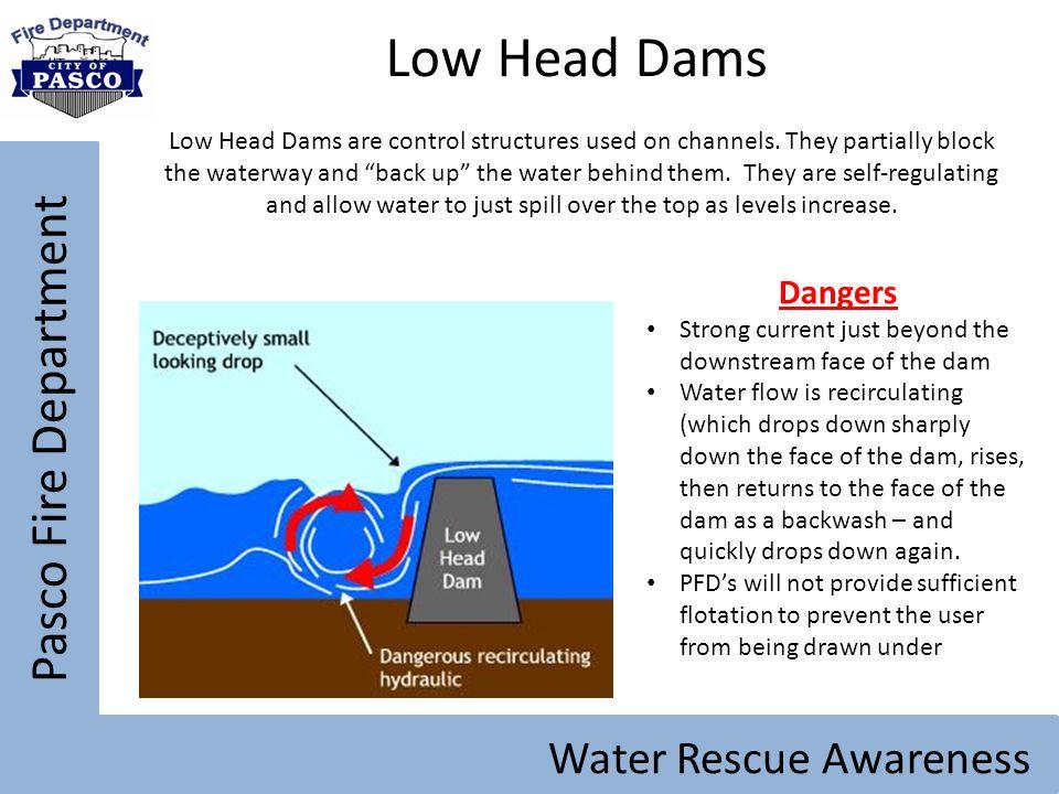 Low Head Dams Pasco Fire Department Water Rescue Awareness Dangers