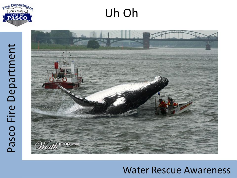 Uh Oh Pasco Fire Department Water Rescue Awareness