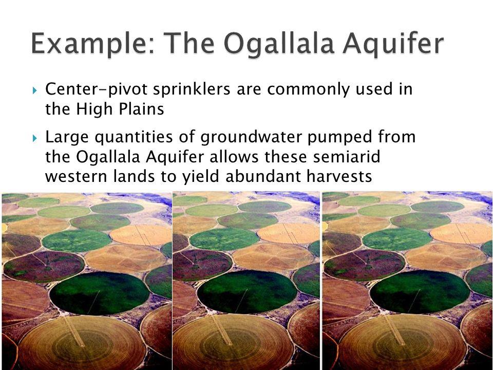 Example: The Ogallala Aquifer