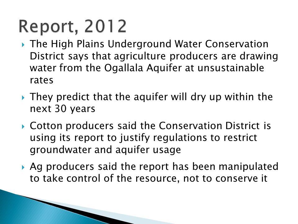Report, 2012