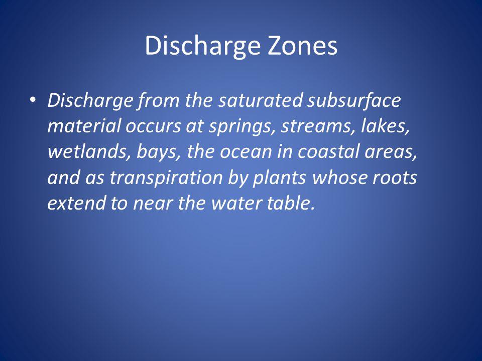 Discharge Zones