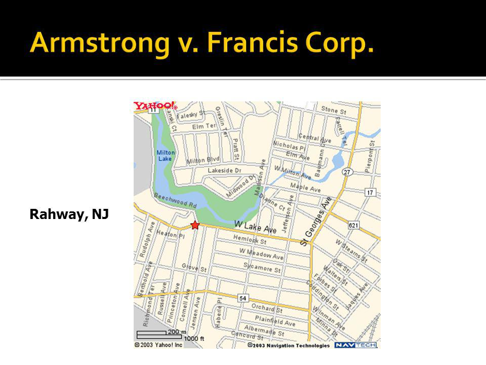 Armstrong v. Francis Corp.