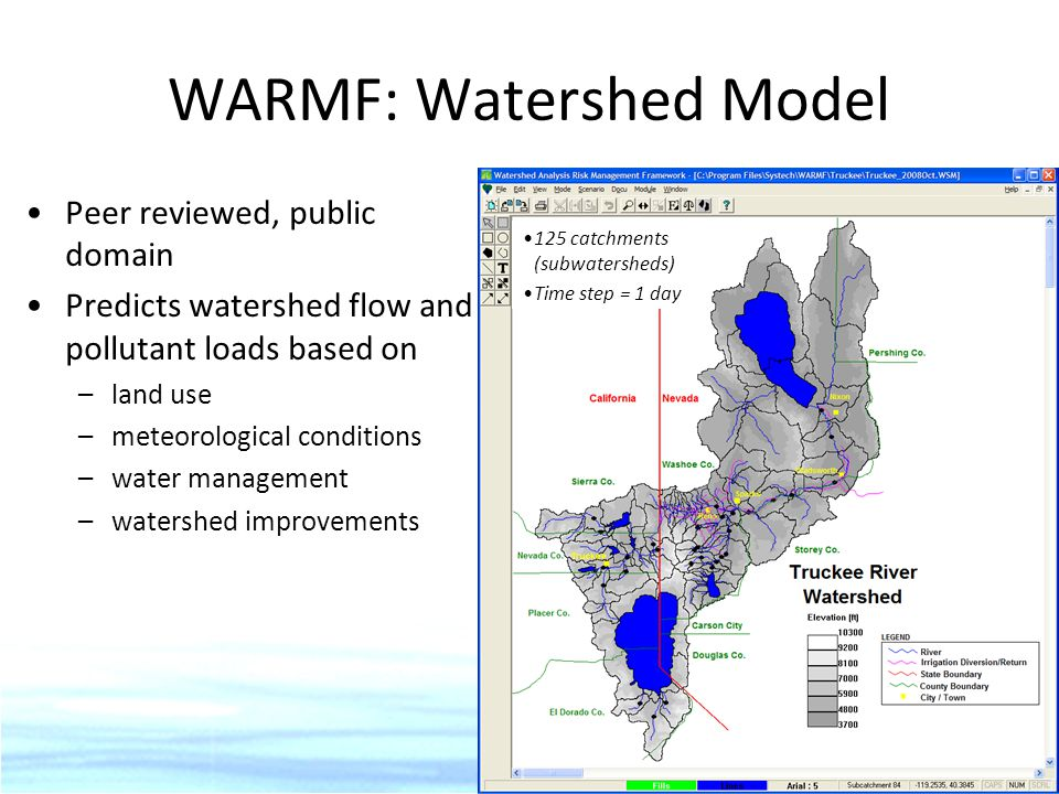 WARMF: Watershed Model