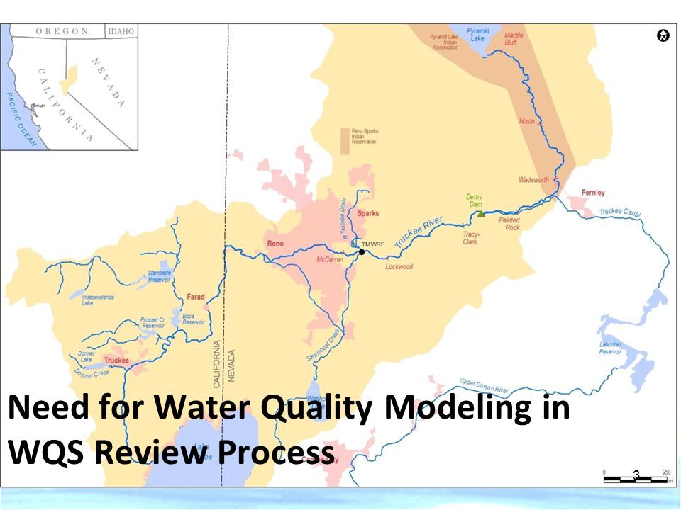 Need for Water Quality Modeling in WQS Review Process