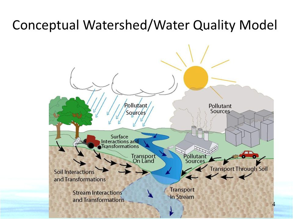 Conceptual Watershed/Water Quality Model